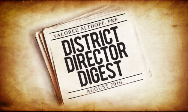 District Director's Digest
