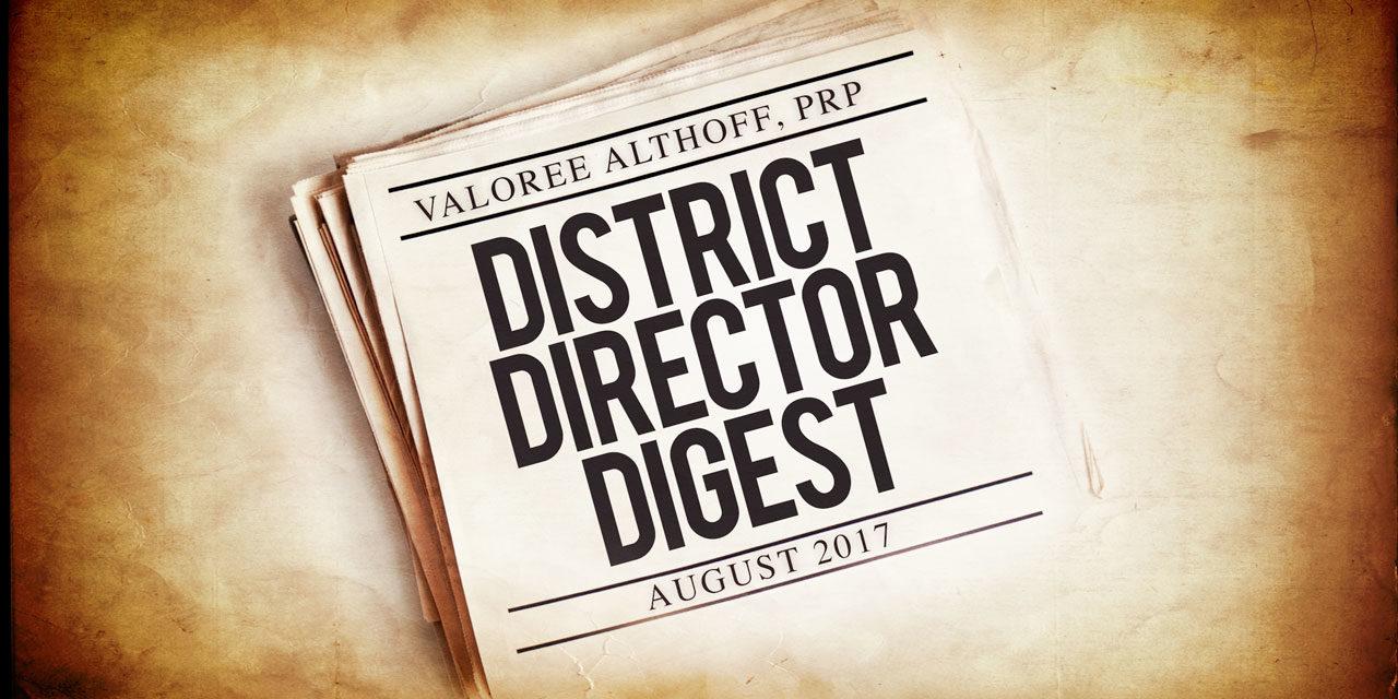District Director's Digest